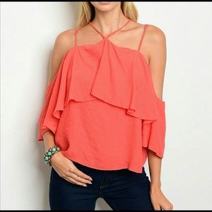 Sexy Coral Top